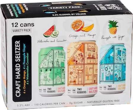 Two Robbers Hard Seltzer Variety Pack 12oz. Can