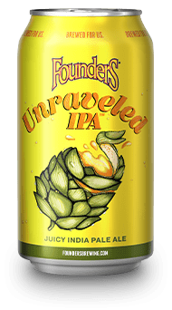 Founders Unraveled IPA 12oz. Can - East Side Grocery