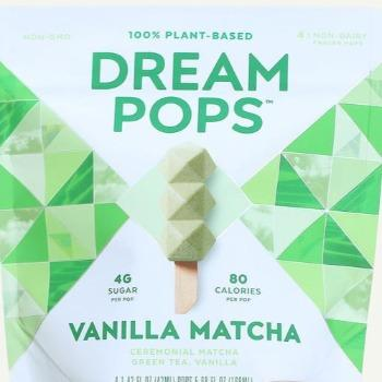 Dream Pops Vanilla Matcha 4 Pack - East Side Grocery