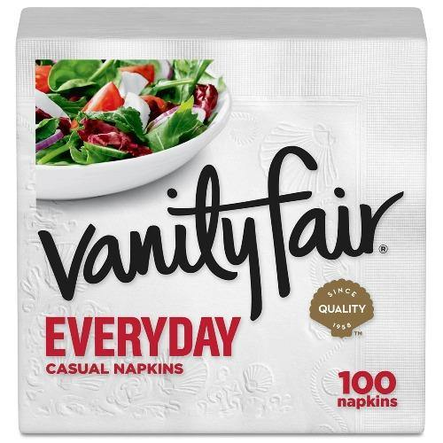 Vanity Fair Everyday Napkin 100ct. - East Side Grocery