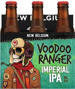 New Belgium Voodoo Ranger Imperial IPA - 12oz. Bottle - East Side Grocery
