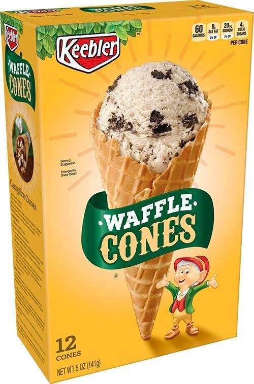 Keebler Waffle Cones 12ct. - East Side Grocery