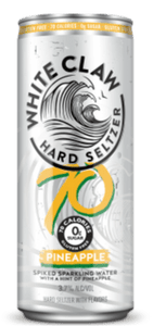 White Claw Hard Seltzer Pineapple 70 Cal. 12oz. Can - East Side Grocery