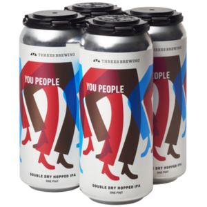 Threes Brewing You People 16oz. Can