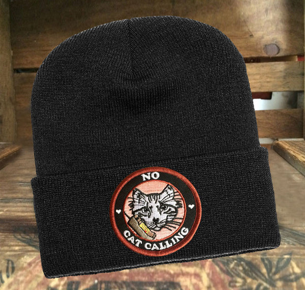 No Cat Calling Wool Hat