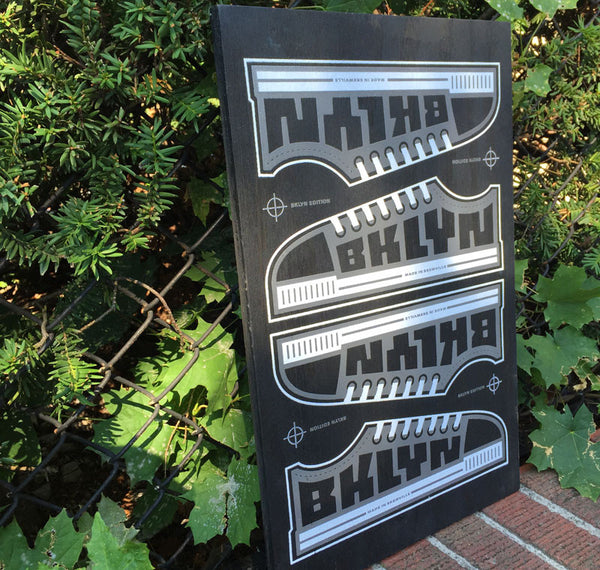 Skewville BKLYN EDITION Screenprint on Wood