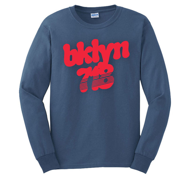 BKLYN 718 INFRARED Long Sleeve T-shirt
