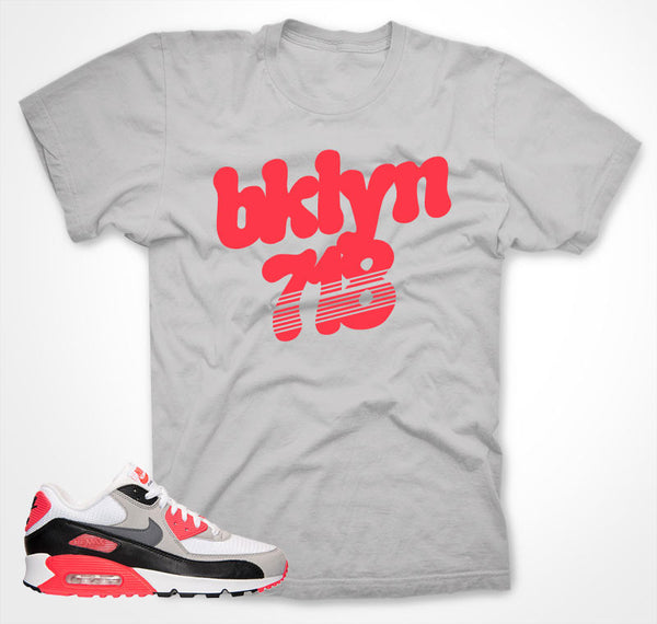 BKLYN 718 INFRARED T-shirt 2015