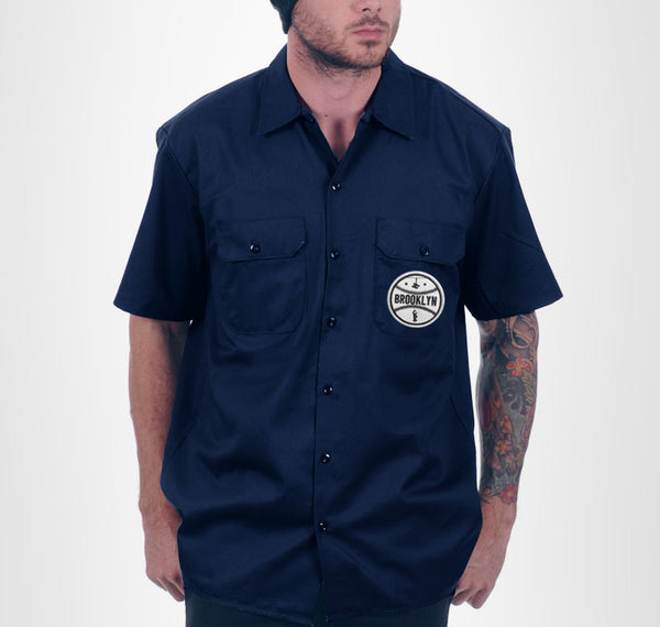 Brooklyn Mechanic Shirt - Navy