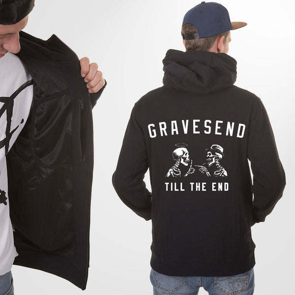Gravesend Till The End Hoodie