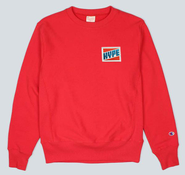 0036020d9615 Perfect for fall and winter- grab yourself one of these super limited  crewneck sweaters featuring embroidered Skewville 'HYPE' patch.