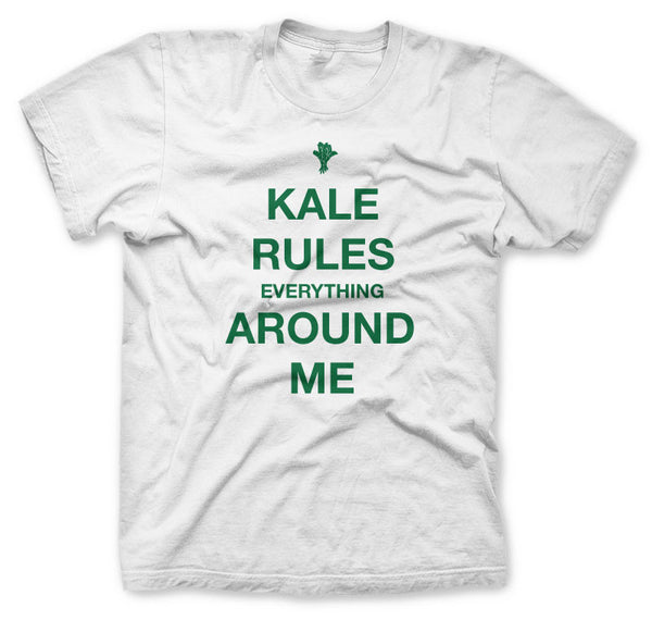 Kale Rules Everything Around Me - K.R.E.A.M  T-shirt