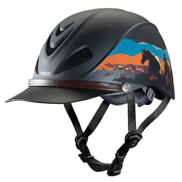 04-319 Troxel Dakota Riding Helmet Badlands Design