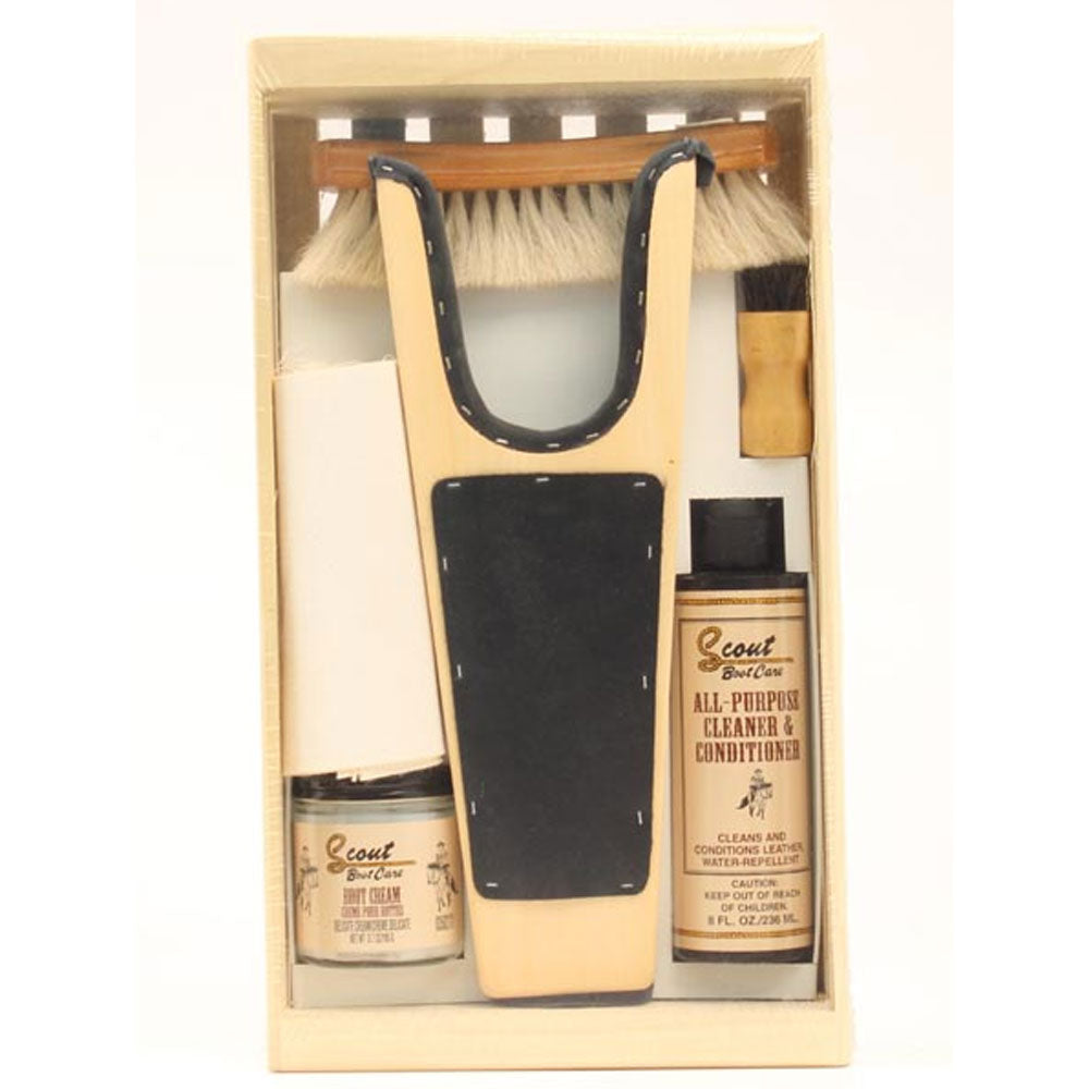 04062 Scout Small Boot Care Kit Gift Package