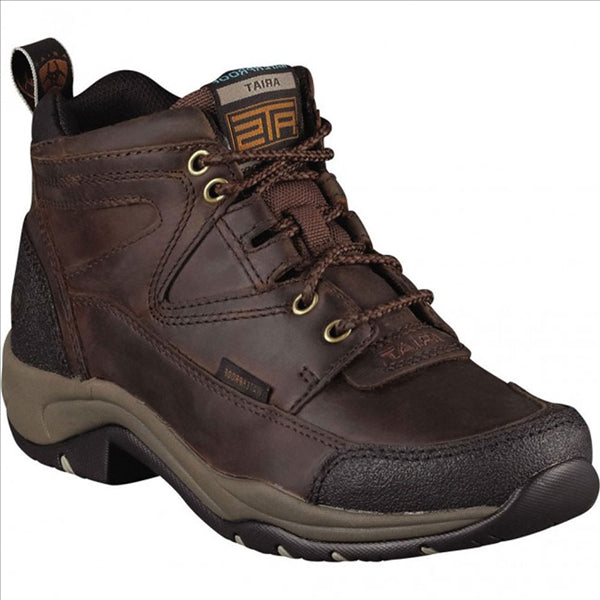 10004134 ARIAT Women's Terrain H2O Copper Waterproof Lace Hiking Endurance Boot Shoe