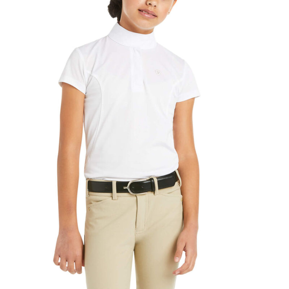 10009461 Ariat Kids' Aptos Short Sleeve Show Top