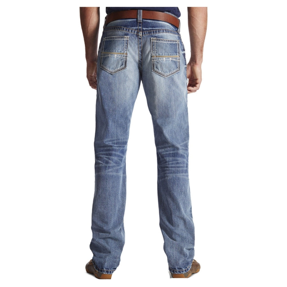 10017511 Ariat Men's M4 Coltrane Durango Low Rise Fashion Boot Cut Jeans