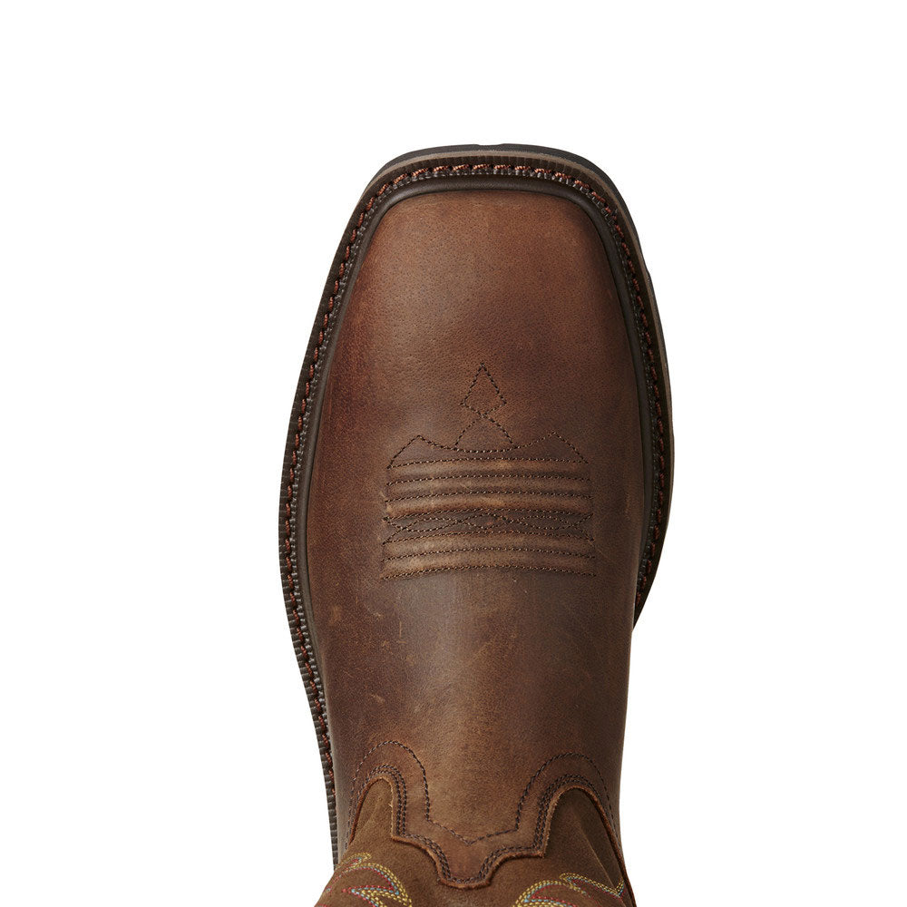 10020059 Ariat Men's Ground Breaker Western Work Boot