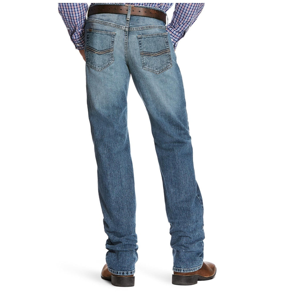 10026032 Ariat Men's M5 Slim Stretch Legacy Stackable Straight Leg Jean - Drifter