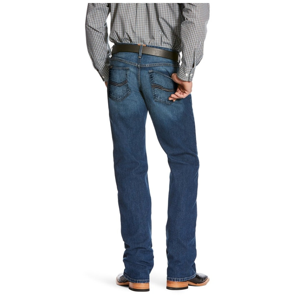 10026033 Ariat Men's  M5 Marshall Stretch Slim Fit Straight Leg Jeans