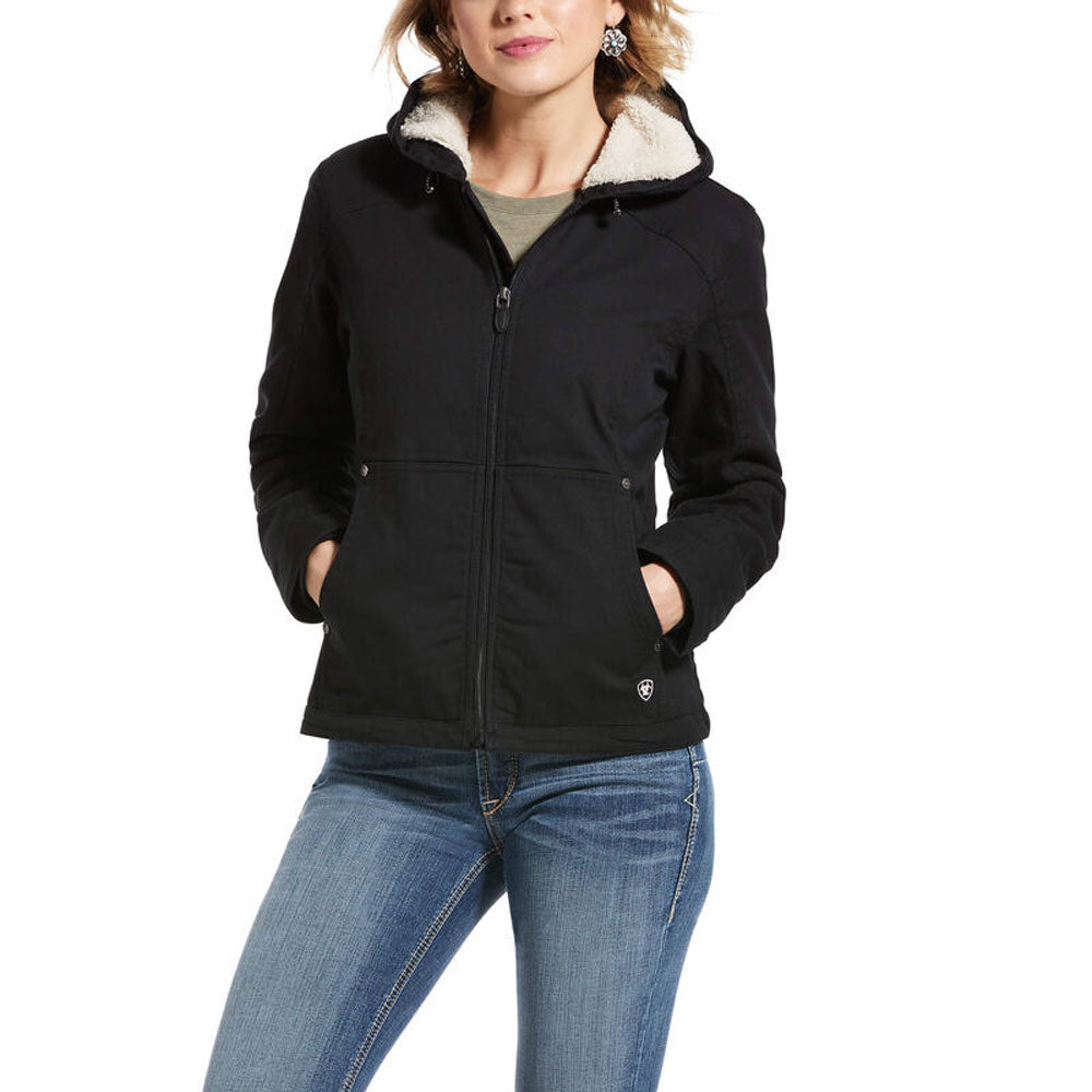 10030003 Ariat Women's REAL Outlaw Insulated Jacket Black
