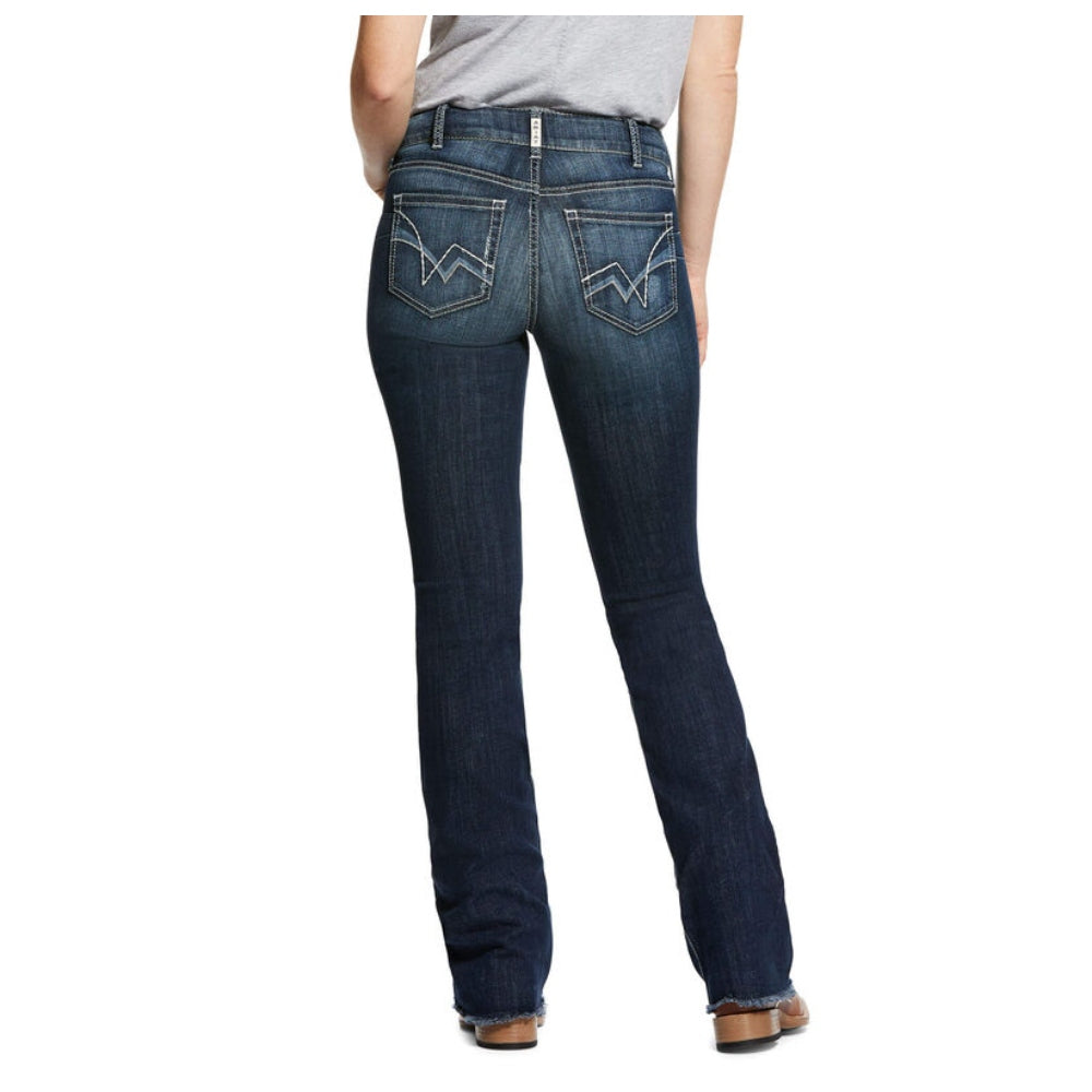 10032306 Women's Ariat R.E.A.L. Perfect Rise Stretch Patty Stackable Straight Leg Jean