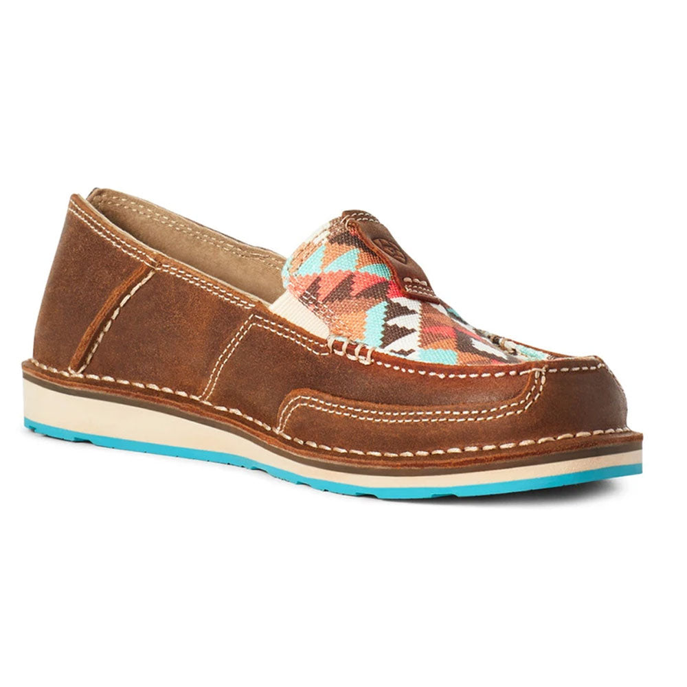 10032626 Ariat  Women's Cruiser Wicker & Multi Geo Print Shoes