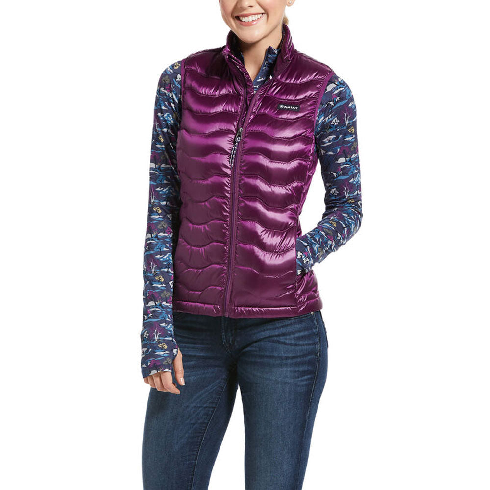 10032644 Womens Ariat Ideal 3.0 Down Vest in Imperial Violet