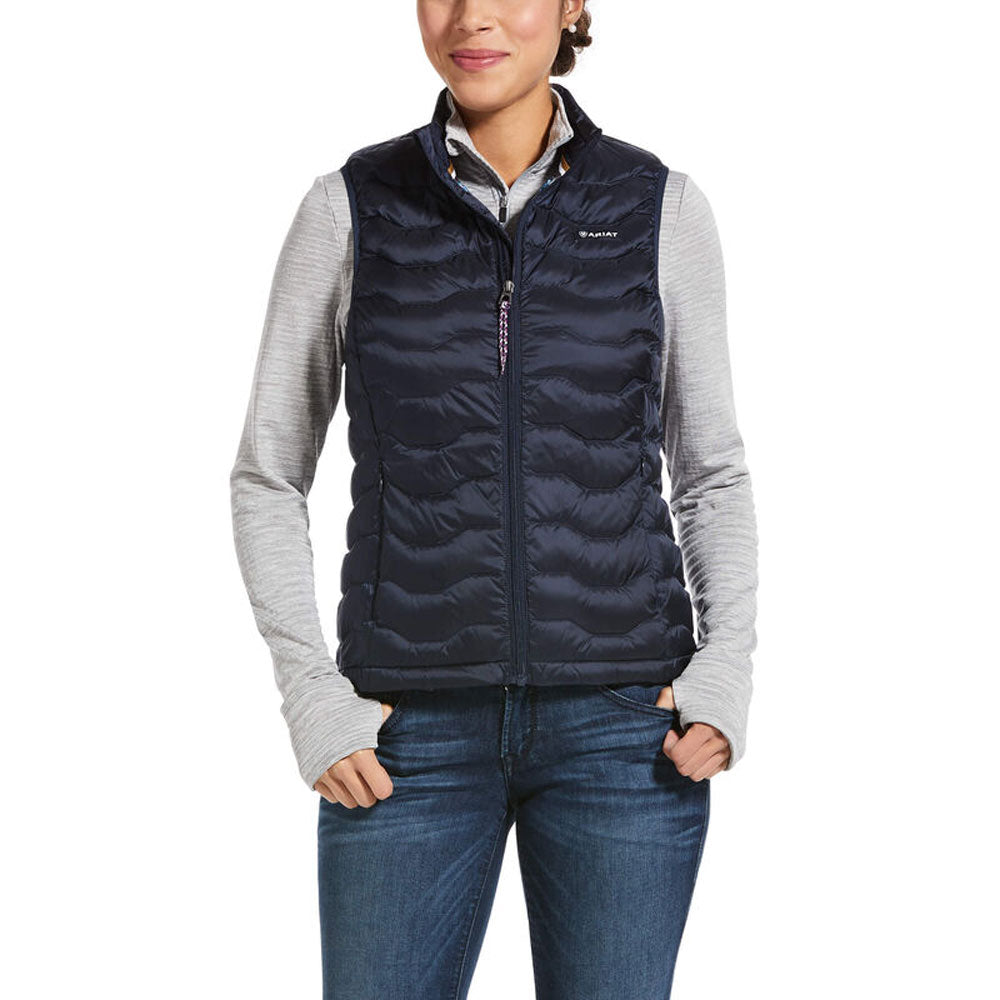 10032646 Ariat Women's Ideal 3.0 Down Vest Navy