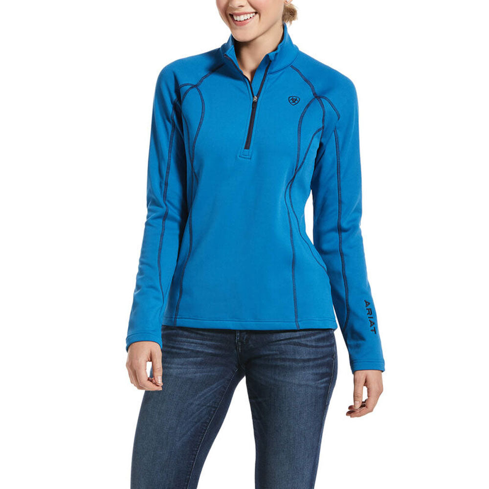 10032656 Ariat Womens Conquest 1/2 Zip Sweatshirt