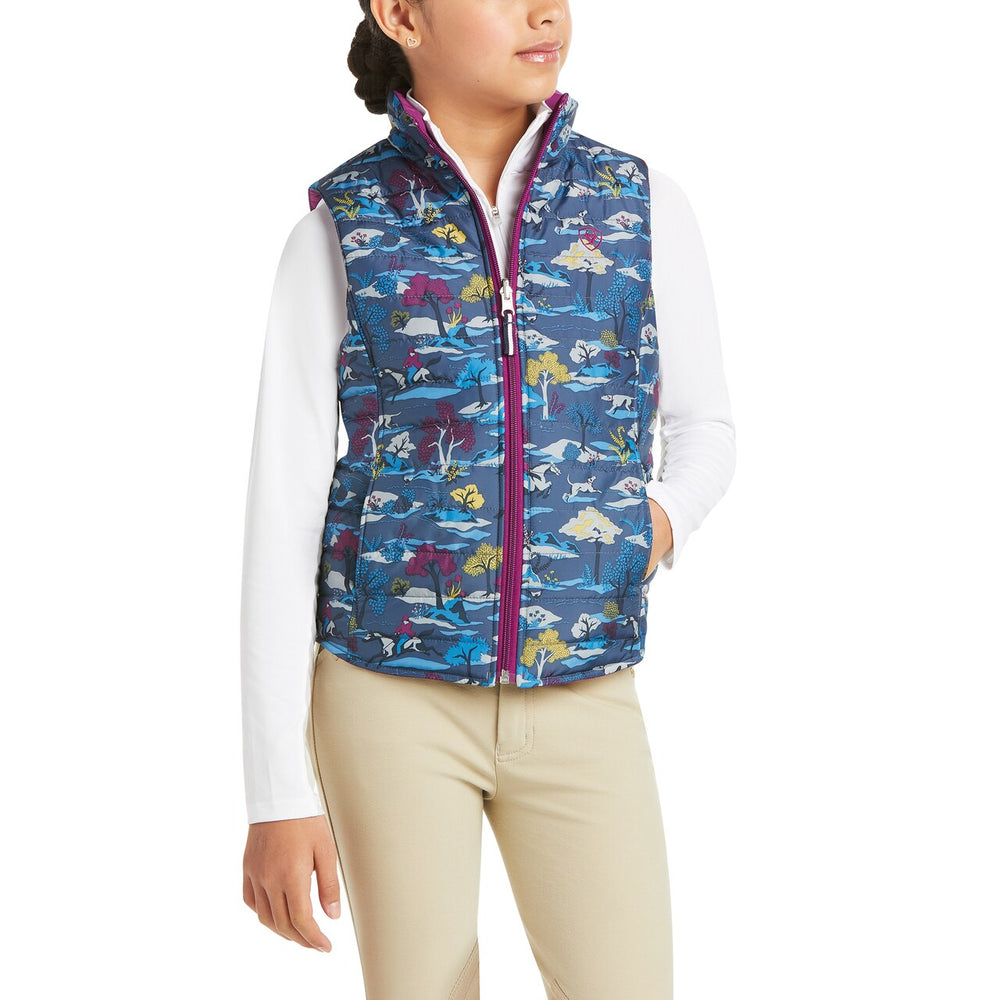 10032733 Ariat Girl's Emma Reversible Insulated Vest