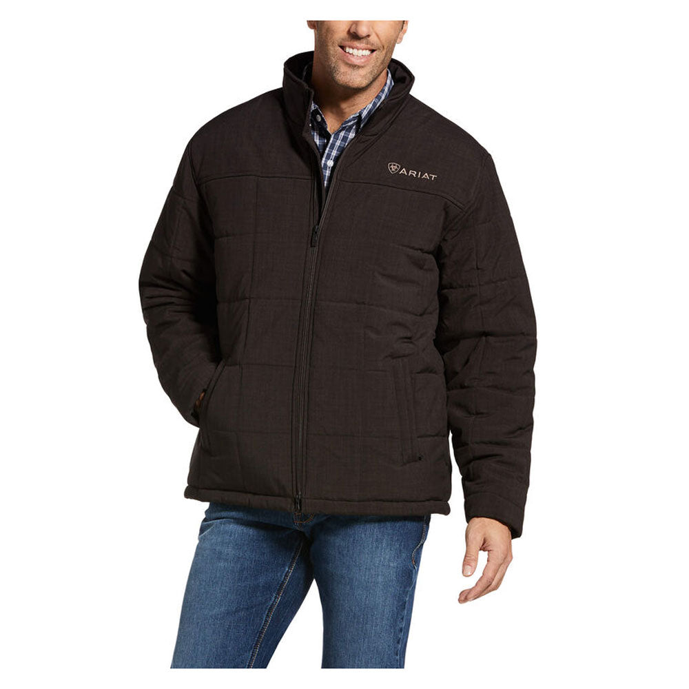 10033004 Ariat Men's Crius Insulated Jacket Espresso Heather
