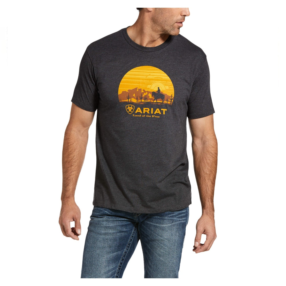 10033357 Ariat Men's Fragment Cowboy T-Shirt