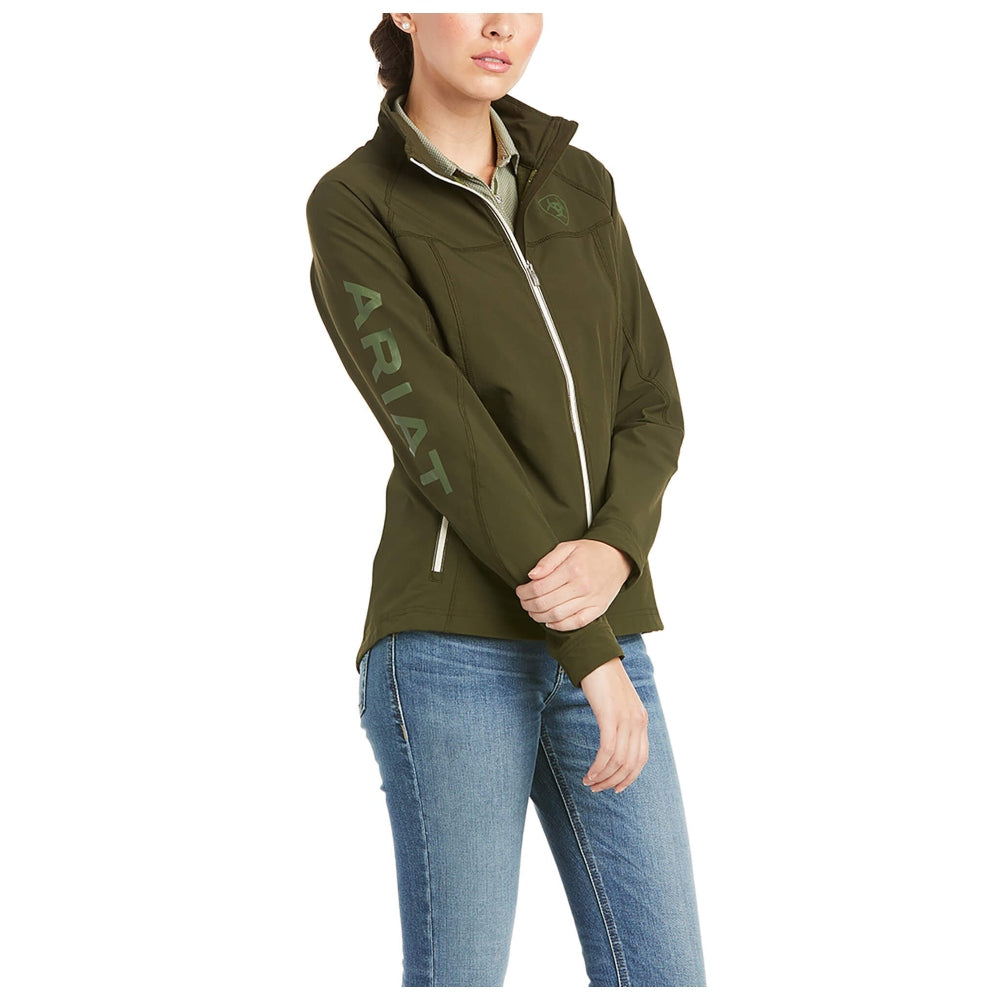 10035014 Ariat Women's Agile Softshell Water Resistant Jacket - Relic