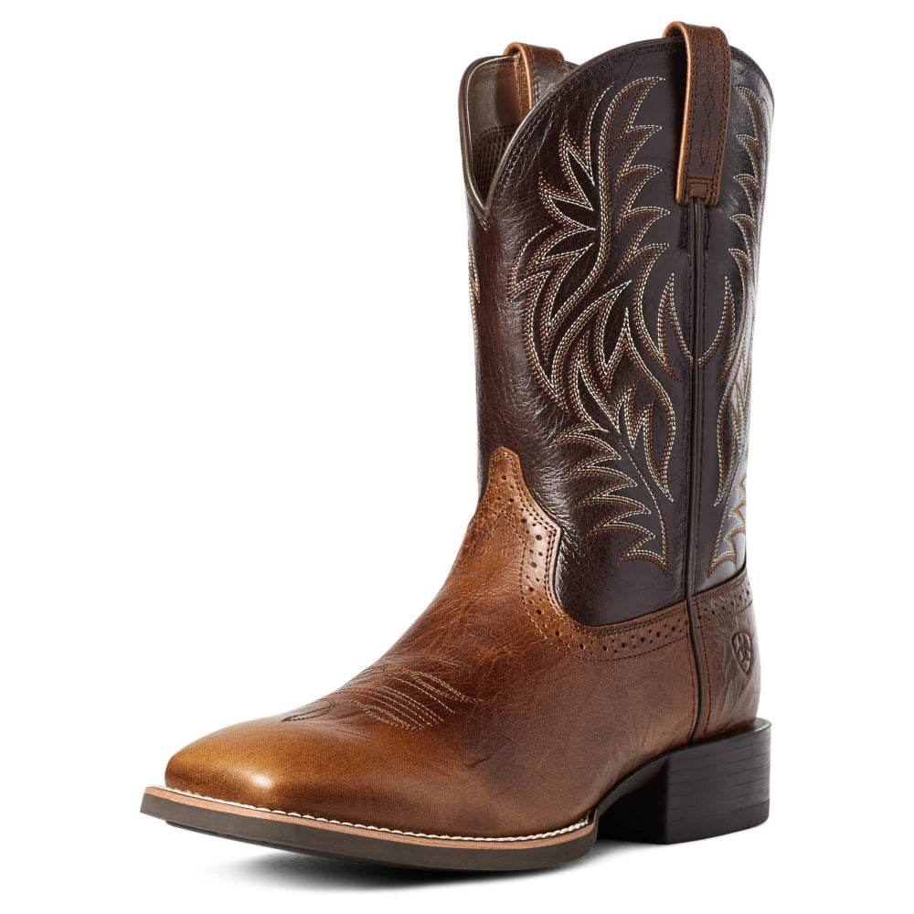 10035996 Ariat Men's Sport Wide Square Toe Western Boot