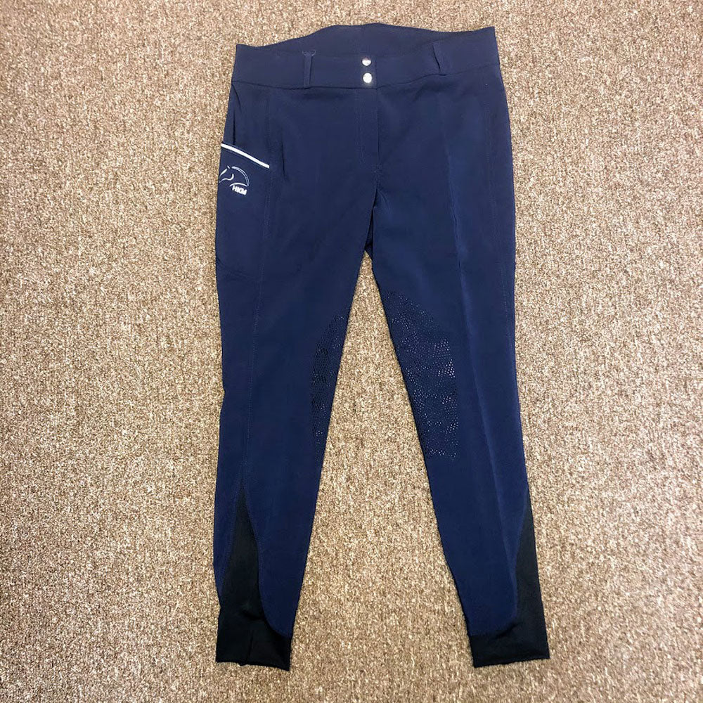 1257C HKM Sunshine Children's Riding Breeches /Silicone Knee Patch
