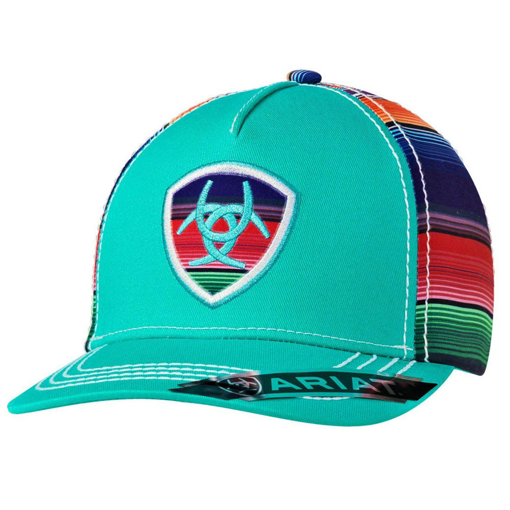 1507933 Ariat Women's Serape Logo Ball Cap Adjustable