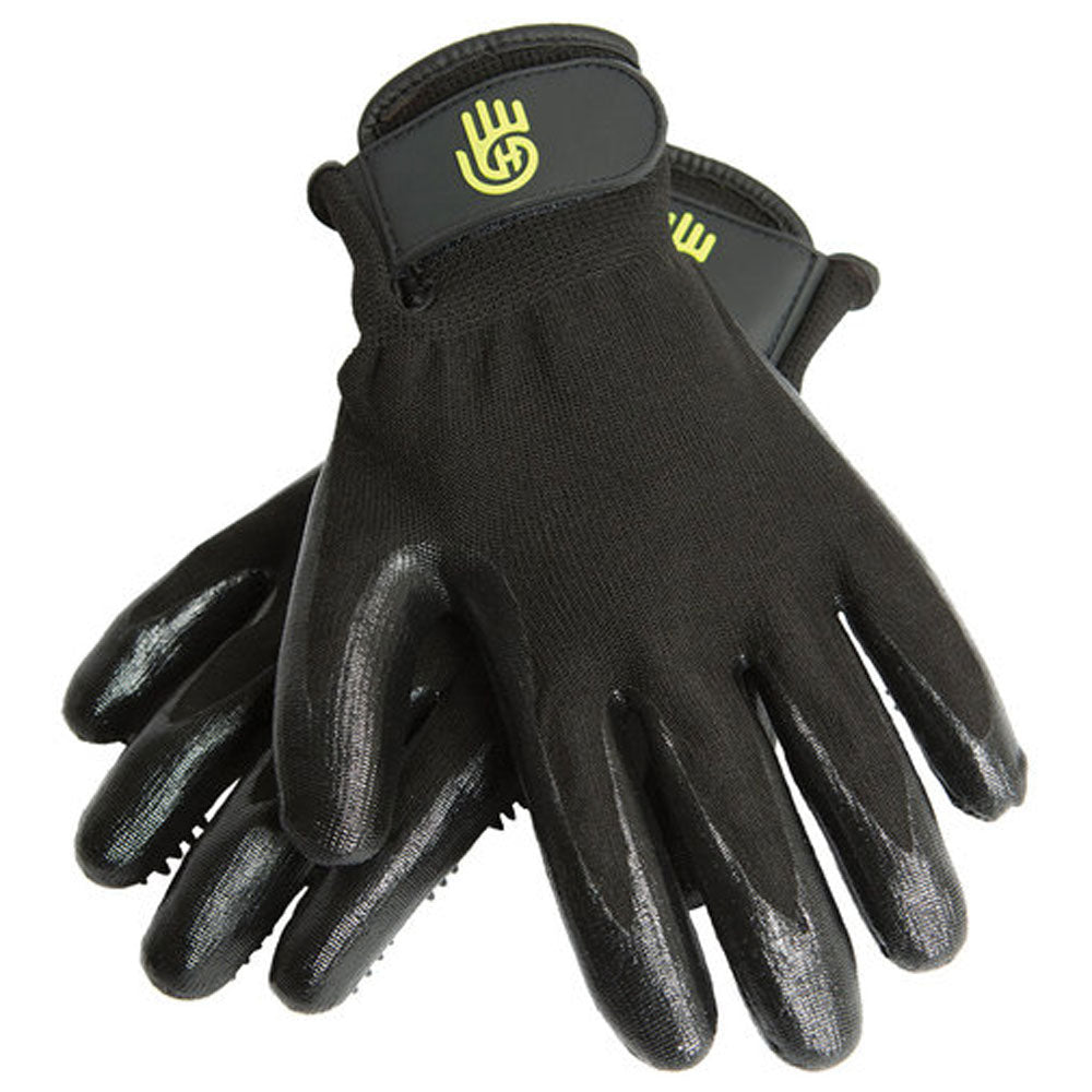 16758-3 HandsOn Shedding, Bathing and Grooming Gloves Black