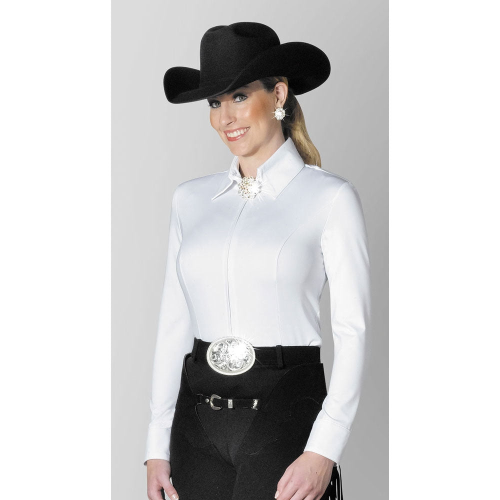 3370-08 Hobby Horse Ladies Pearle Blouse- White