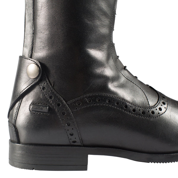 39071 Horze Women's Winslow Tall Field Boots Black