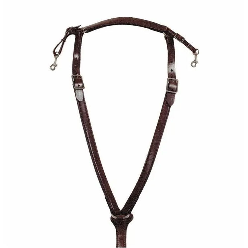4283-0011 Circle Y Trail Cob Classic Over Neck Breast Collar
