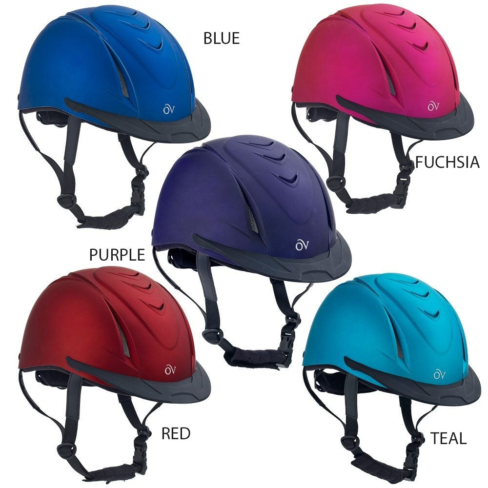 469765 Ovation Metallic Schooler Riding Helmet
