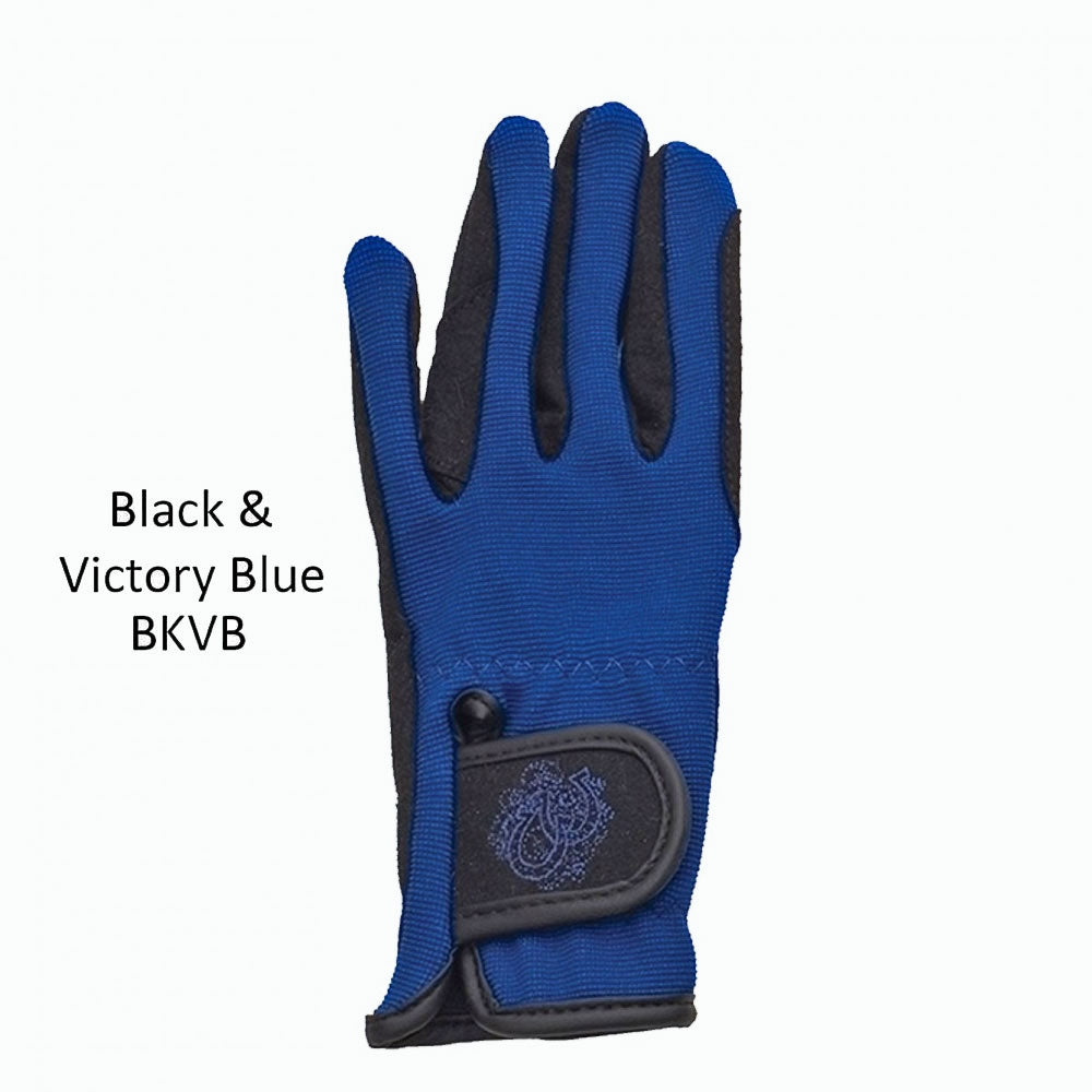 470508 Ovation Child's Horseshoe Gloves Great Colors