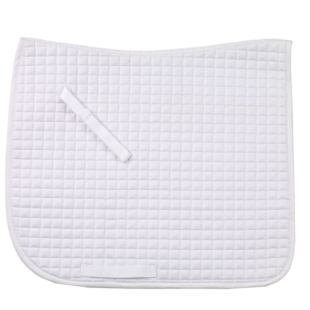 470718 Ovation Pro Mini Quilt Dressage Pad White