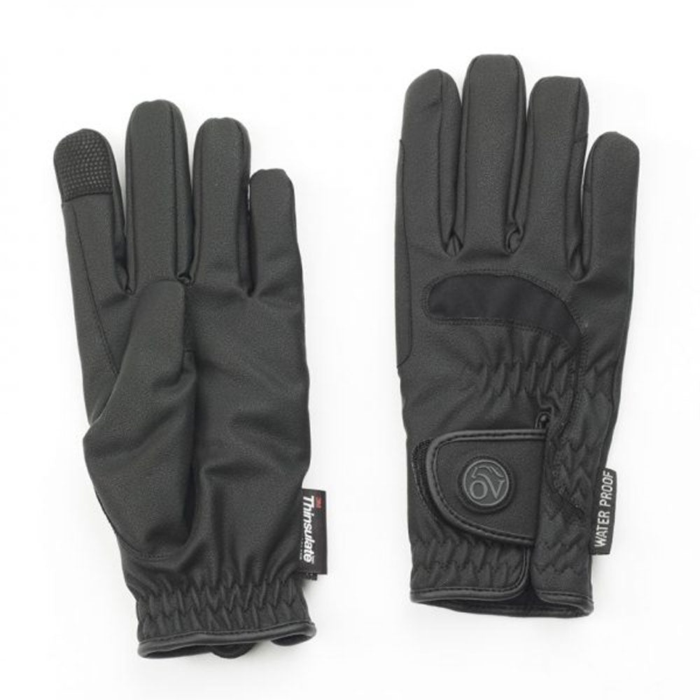 470825 Ovation LuxeGrip Winter Riding Gloves Adult Black