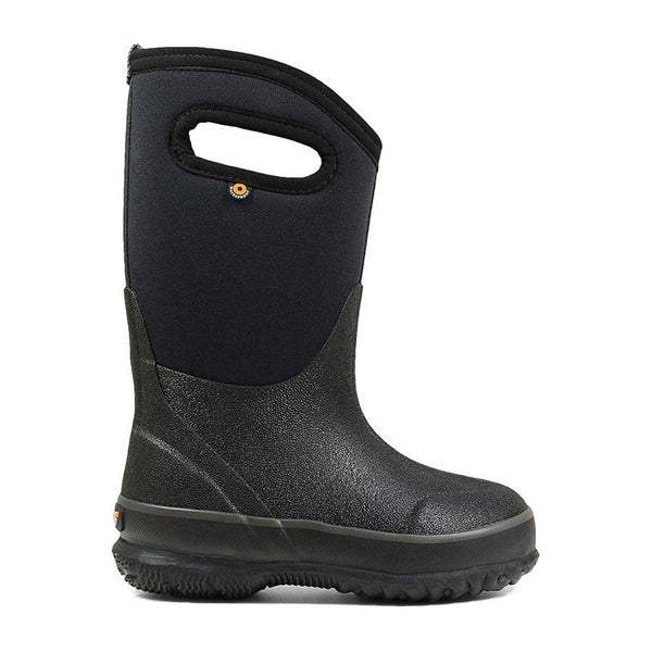 52065 BOGS Kids Classic Winter Boot with Handles Black