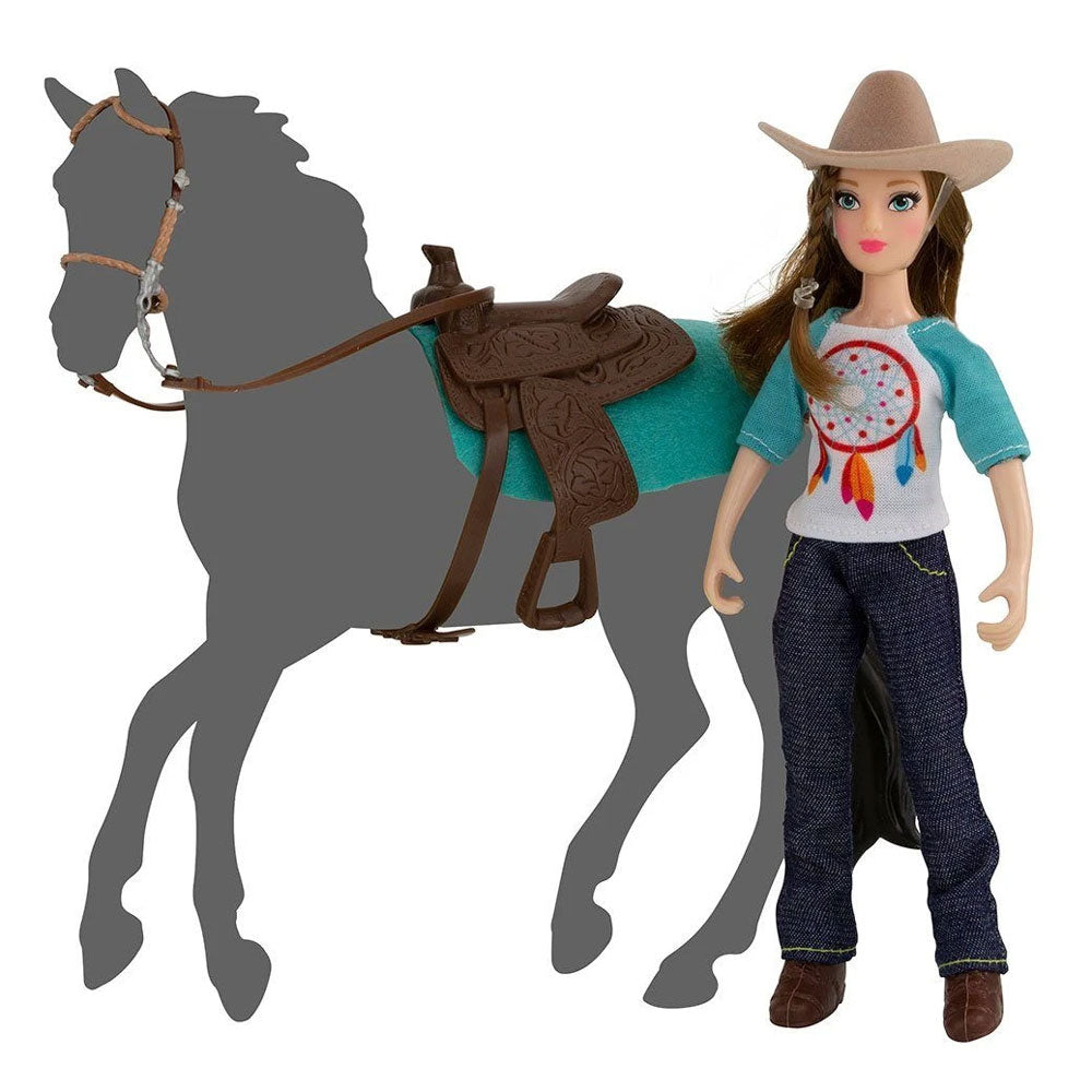 62025 Breyer Natalie Cowgirl Doll Set