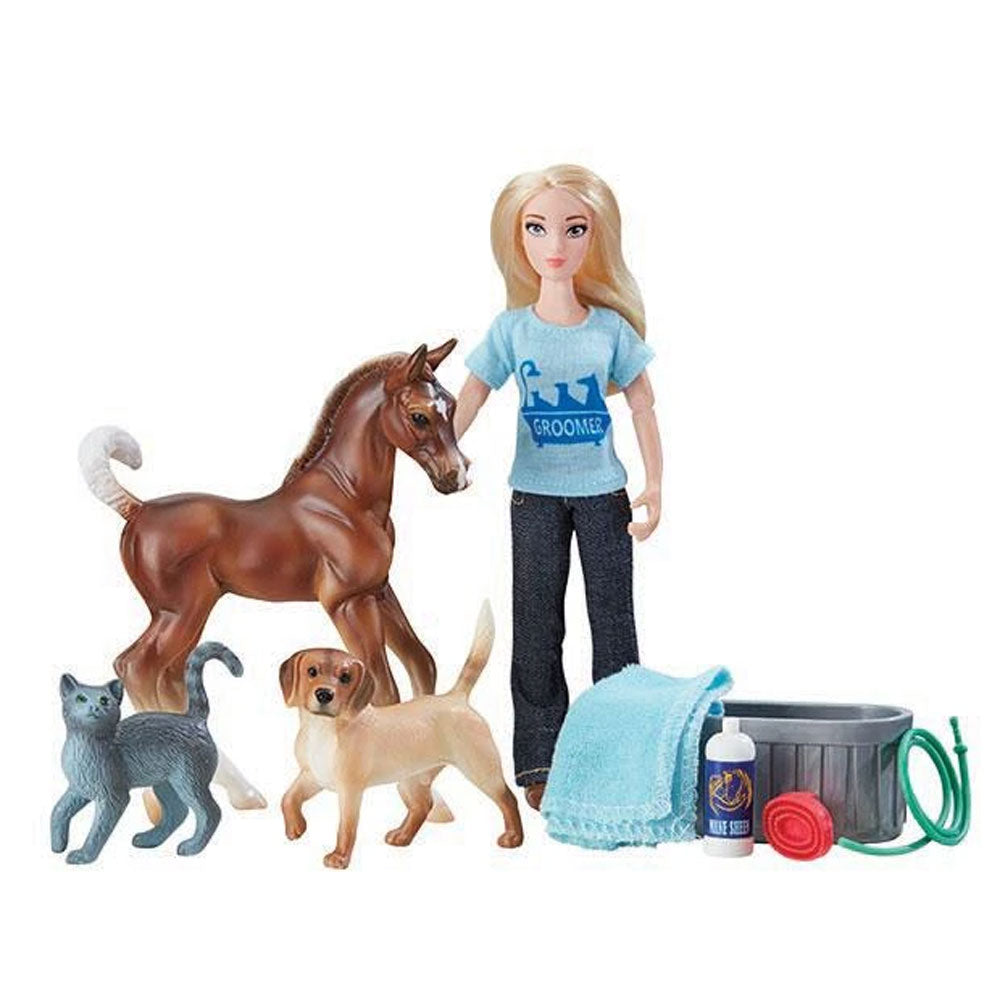62029 Breyer Pet Groomer Set
