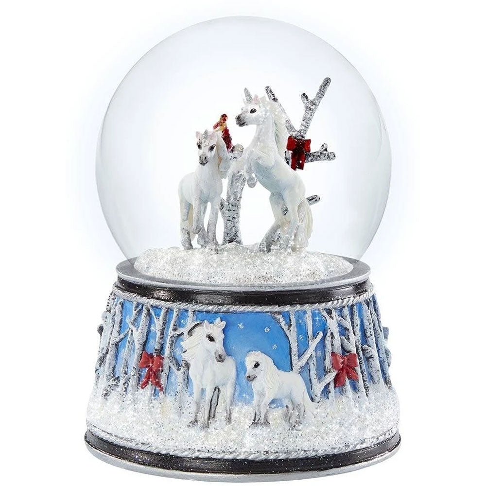 700241 Breyer Enchanted Forest 2020 Magical Snow Globe