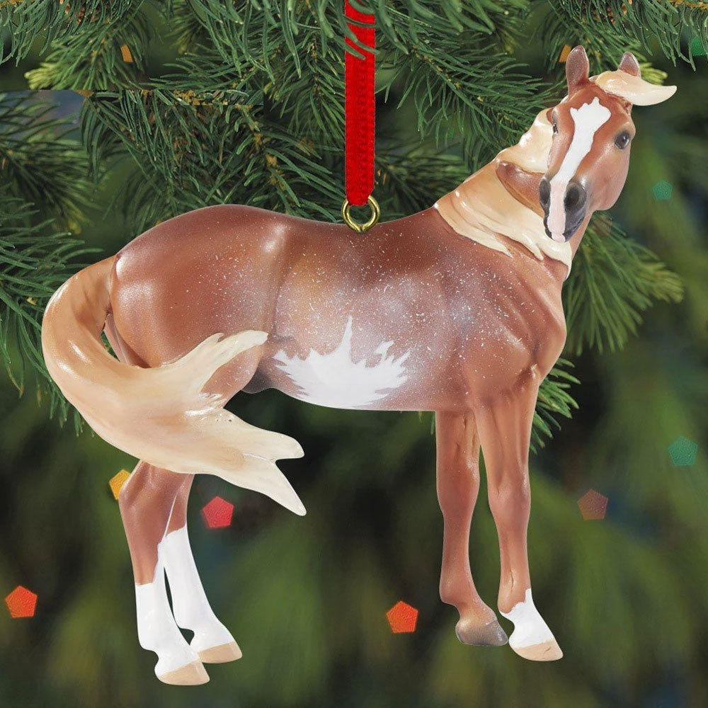 700521 Breyer 2020 Beautiful Breeds Ornament Mustang